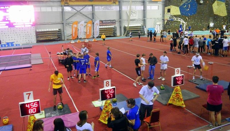 Setfor для гиревого спорта соревнования