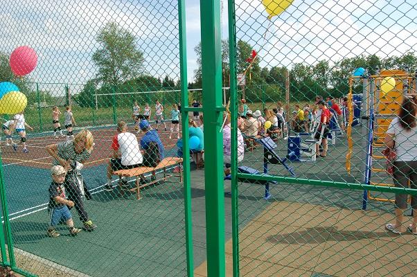 резиновое покрытие детских и спортивных площадок - Setfor